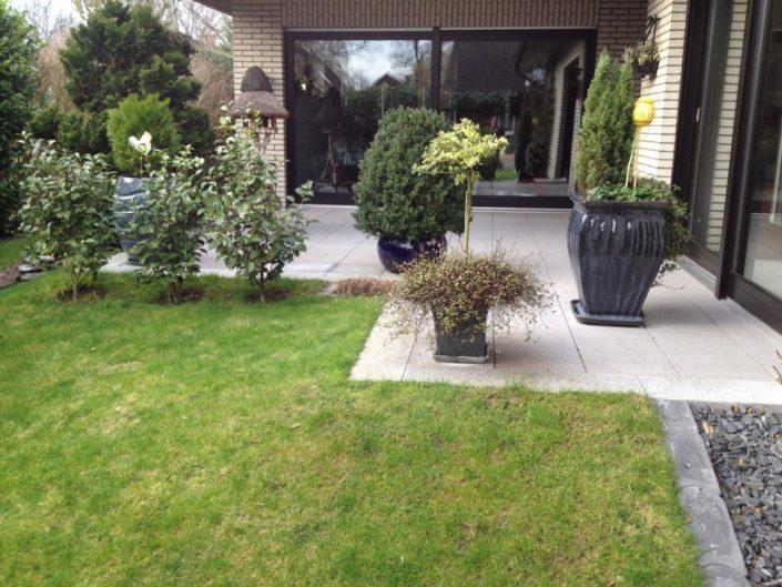 Gartenbau Denz Projekt Grotelüschen vorher