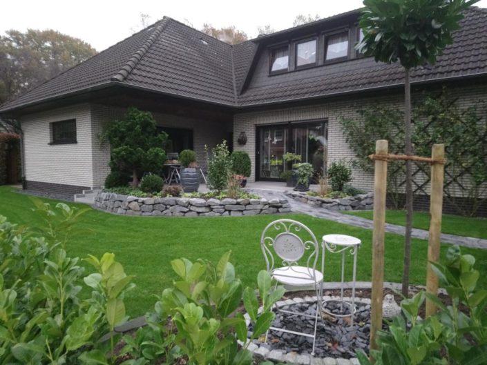 Gartenbau Denz Projekt Grotelüschen nachher
